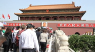 Stock Video Footage of Forbidden City Exterior, Beijin, China - 1