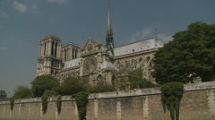 Notre Dame in Paris, 3 Stock Footage