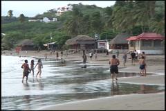 San Juan del Sur Beach - stock footage