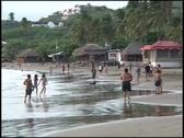 San Juan del Sur Beach Stock Footage