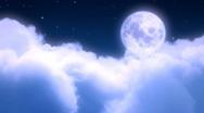Stock Video Footage of night sky
