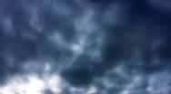 Timelapse Stormy Clouds FX01 Loop HD720 Stock Footage
