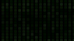 Square block brick matrix,tech computer debris data,information background. Stock Footage