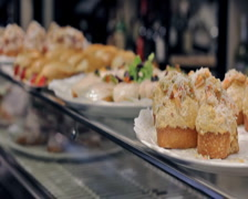 0014 Pintxos PAL - stock footage