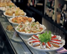 0015 Pintxos PAL - stock footage