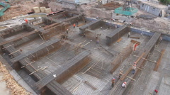 Kashgar Construction 1 - stock footage