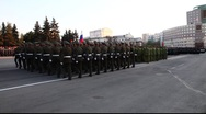 Stock Video Footage of Soldiers Marching