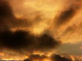 Timelapse Heavenly Sunset 04 Loop SD Stock Footage