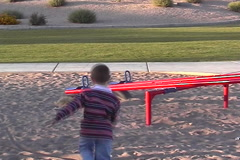 Boy Playing Stock Footage