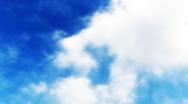 Timelapse Heavenly Sky Clouds HSD20 Loop HD720 Stock Footage