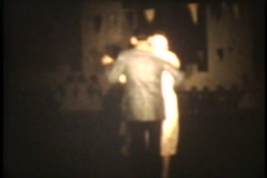 Stock Video Footage of 8MM Middle School Dance