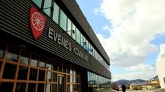 Evenes municipality time-lapse Stock Footage