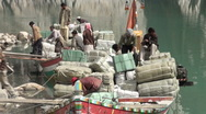 Stock Video Footage of Humanitarian aid after floods in Pakistan