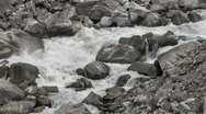 Stock Video Footage of Raging river in Northern Pakistan