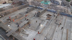 Kashgar Construction 4 Stock Footage