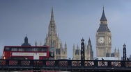 London. Big Ben. Stock Footage
