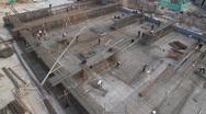 Kashgar Construction 11 Stock Footage