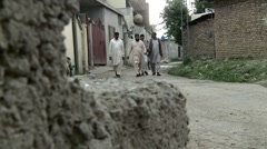 The Bin Laden Neighborhood in Abbottabad, Pakistan Stock Footage