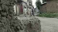 The Bin Laden Neighborhood in Abbottabad, Pakistan - stock footage