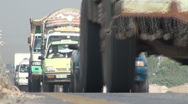 Stock Video Footage of Busy highway in Pakistan's capital city Islamabad