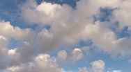 Clouds Diagonal Stock Footage