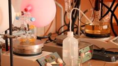 Chemistry laboratory - stock footage
