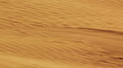 Desert landscape with sand and wind Stock Footage