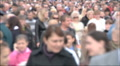 crowd of people , out of focus Footage