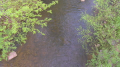 Mountain Creek from Above - HD 720 - stock footage
