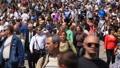 City Street Crowd HD Footage