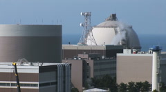 Stock Video Footage of Nuclear Power Plant Japan