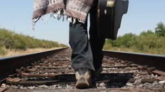 Mariachi Travels To Next Gig Stock Footage