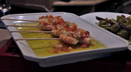 Stock Video Footage of 0026 Pintxos HD30