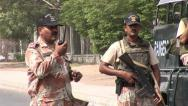 Stock Video Footage of Pakistan Military Rangers