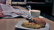 Stock Video Footage of 0027 Cafe NTSC