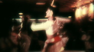 Stock Video Footage of Indian Traditional Folk Dance Performance V1- Vintage Super8 Film