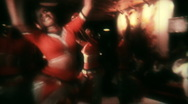 Stock Video Footage of Indian Traditional Folk Dance Performance V6- Vintage Super8 Film