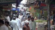 Stock Video Footage of Mysterious Islamabad Bazaar