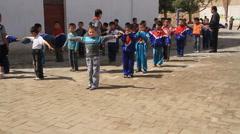 Kashgar schoolyard - 2 Stock Footage