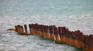 Stock Video Footage of old pier