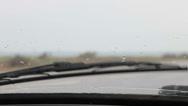 Stock Video Footage of Rainy Drive