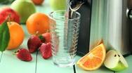 Stock Video Footage of fresh juice