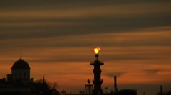 Rostral columns Stock Footage