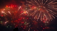 Stock Video Footage of Firework.