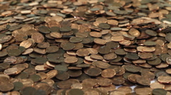 Pennies from Heaven2 - stock footage