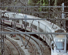 0033 Tren PAL Stock Footage