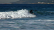 Stock Video Footage of surfer 08 - surfin'