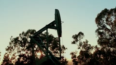 Oil Pumps - stock footage