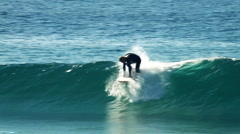 Surfer 10 - wave rider Stock Footage