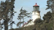 Lighthouse, Oregon Stock Footage